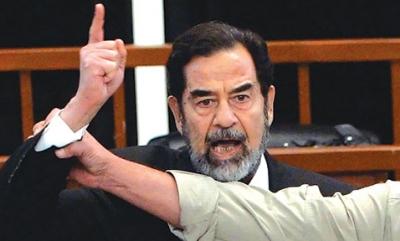 """ظهور حفيد لـ""""صدام حسين"""" من ابنه عدي يطالب بمليارات أبيه وعمه وجده !"""