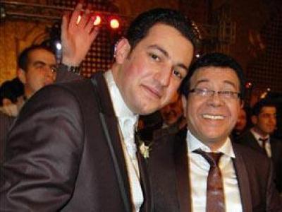 أحمد آدم يحتفل بزفاف ابنه..شاهد الصور