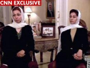 رنا صدام حسين: لم أفكر قط أنني لن أراه ثانية