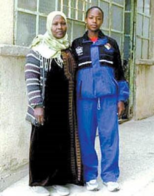 سناء بخيت ممثلة فلسطين في الالعاب الاولمبية : سافرت على نفقة رجل اعمال فلسطيني في الكويت