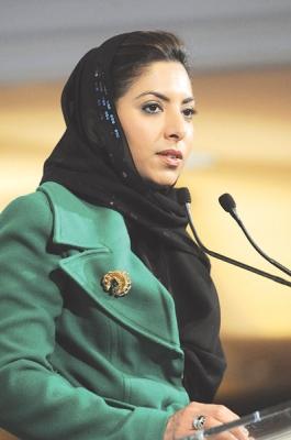 أفنان الشعيبي.. سفيرة فوق العادة للعرب في لندن