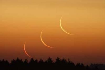 هلال رمضان يظهر في وضح النهار باستخدام تقنية حديثة و12 اغسطس.. أول رمضان