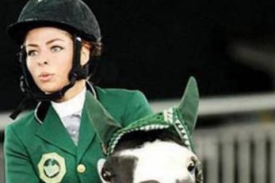 دلما محسن أول فارسة سعودية تشارك في الألعاب الأولمبية دنيا الوطن