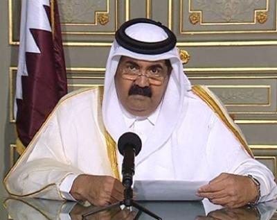 أمير قطر قال ان اغلب الزعماء العرب قاطعوه بسبب قناة الجزيرة