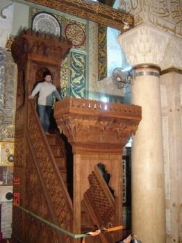 منبر صلاح الدين يعود للمسجد الأقصى