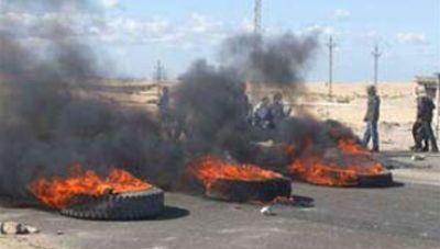بدو سيناء يحاصرون مركز شرطة الشيخ زويد بعشرات الأسلحة الآلية ويطلقون قذائف آر بي جى