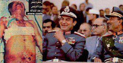 فيديو لم يعرض من قبل يظهر مشاركة مبارك في اغتيال السادات
