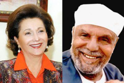 نجل الشعراوي: سوزان مبارك حاربت والدي لرفضه الخلع