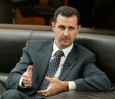 بشار ترك قصر والده الفخم الى مكتب شعبي متواضع  في احد احياء دمشق