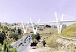 جسر عبدون المعلق الممر الآمن بين اغنياء عمان