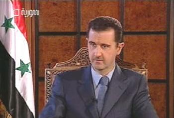 الرئيس بشار الأسد في اول حديث شامل قبيل قمة الرياض:العلاقة بيننا وبين الملك عبدالله هي علاقة عائلة وعلاقة أخوة