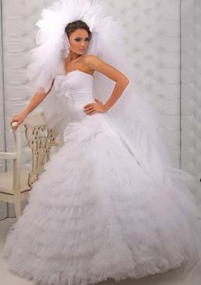 صور فستان عروس مكشكش مره مواضيع ذات صلةفستان زفاف من