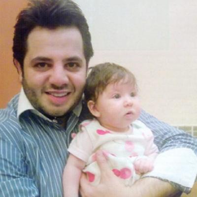 نيشان يشارك ابنة نانسي عجرم صورتها الإعلامية الأولى