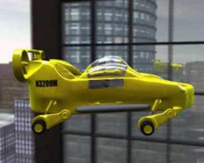 السيارة الطائرة الأولى العالم