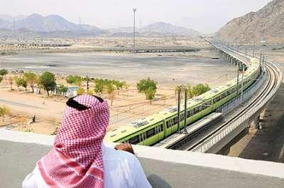 السعودية لإنشاء الجسر البري وقطار