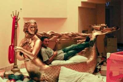 """بالصور.. قصر عائشة القذافي ينافس أسطورة """"كليوباترا"""""""