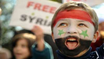 صور تتحدث عن ثورة الشعب السوري