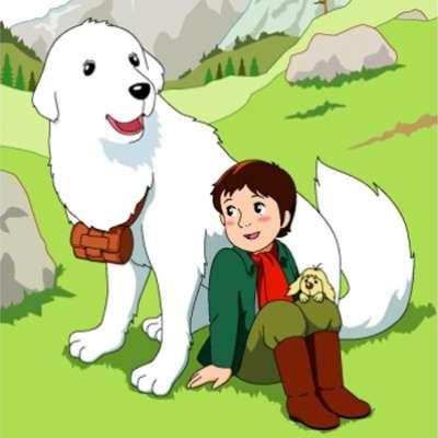 """كلب مسلسل الكرتون """"بل وسبستيان""""الحقيقي..بالصور"""