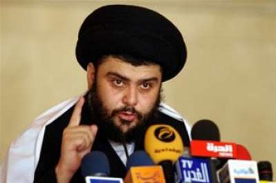الصدر يعلن استعداده لإرسال متطوعين عراقيين إلى فلسطين للدفاع عنها