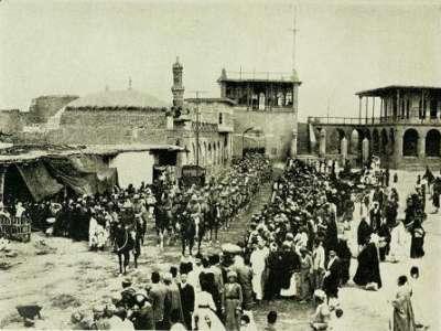صور نادرة جداً للثورة العربية في العراق عام 1920