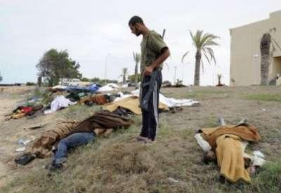 الصليب الاحمر الدولي: العثور على 267 جثة في مدينة سرت الليبية وضواحيها
