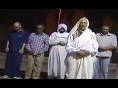 صلاة الجنازة على معمر القذافي