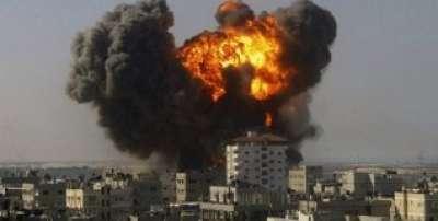 شهيد واصابات .. الطائرات الحربية والمدفعية الاسرائيلية تستئنف قصف غزة