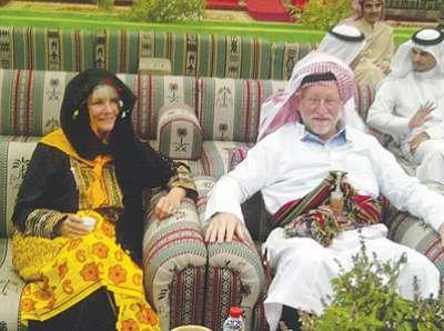 السفير الامريكي وزوجته جنوب السعوديه