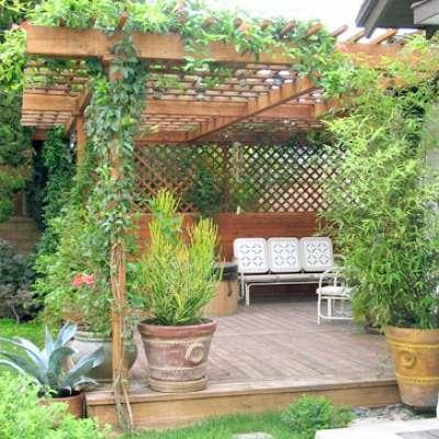 تصور هذه حديقة منزلك...هل ستشعر بضيق في صدرك؟
