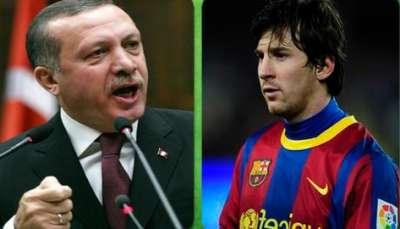 أردوغان رجل 2011 وميسى الوصيف