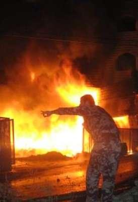 الاهمال يتسبب بحريق منزل في عنزا جنوب جنين