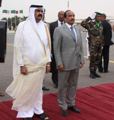 طرد أمير قطر موريتانيا اثر