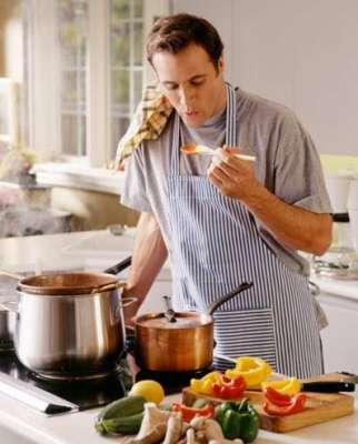 دخول الرجل للمطبخ ماذا يعني