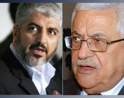 الرئيس عباس: أنا ومشعل متفقان على أن نستمر في المفاوضات