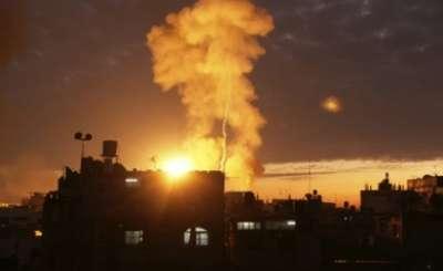 غارات إسرائيلية قطاع إطلاق صاروخ 9998315629.jpg