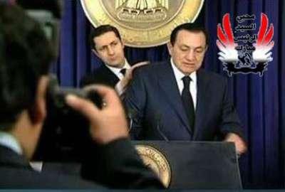 حسني مبارك في صورة نادرة قبل الخطاب الثاني 9998315764.jpg