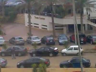 فيديو السطو المسلح على بنك HSBC في القاهرة صباح اليوم