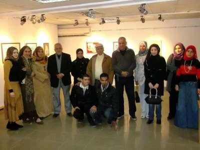 قصر ثقافة المنصورة يحتفل بعيد ثورة يناير بمعرض في الفن التشكيلي