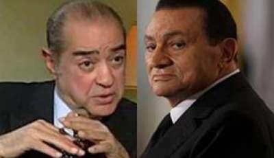 مبارك يرسل رسالة تهديد لأحد