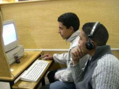"""في غزة لغة """"الحبشتكنات"""" تطغى على حديث الشباب لكل"""