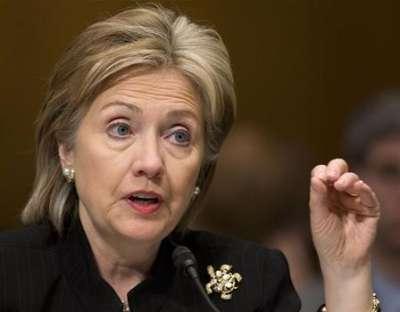 نجاة هيلاري كلينتون من محاولة اغتيال قرب تل أبيب