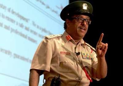 قائد شرطة دبى يطالب باعتقال
