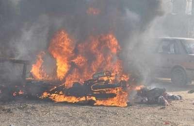 شهيد وجريح في قصف مدفعي بحي الزيتون شرق غزة .. عدد الشهداء يرتفع الى ستة عشر وحديث يدور عن تهدئة من جانب اسرائيل