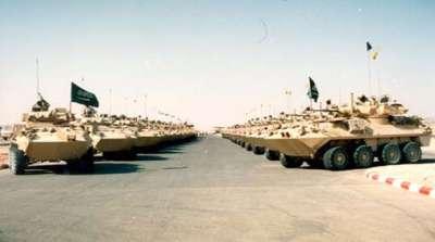 تحرك معدات عسكرية سعودية الأردن لدعم الجيش السوري الحر 9998320933.jpg
