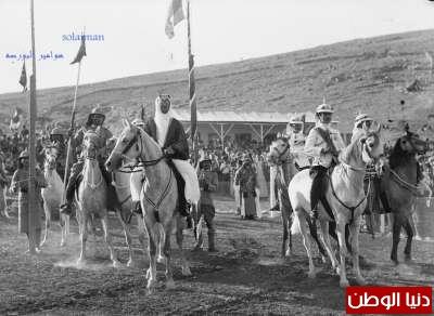 زيارة الملك سعود العزيز للأردن جواد 1933 9998322931.jpg