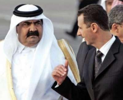 الرئيس السوري لأمير قطر : أستطيع حرق الدوحة وما حولها