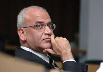 عريقات: نُرحب بجهود مصر لتثبيت التهدئة