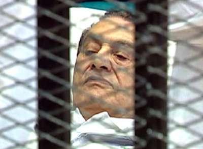 رسالة وداع من مبارك لنجليه علاء وجمال