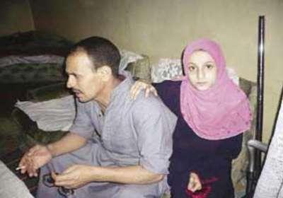 فتاة مصرية تعيش بلا طعام منذ عامين