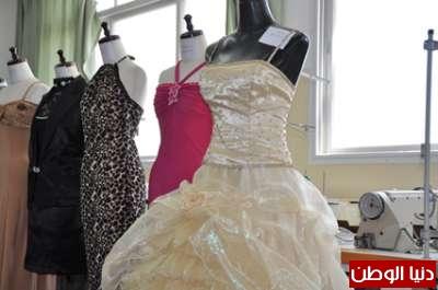 6e3123b6e بدء مناقشة30 مشروع تخرج لطلبة قسم الأزياء بكلية فلسطين التقنية ...